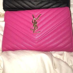 Mini YSL clutch purse